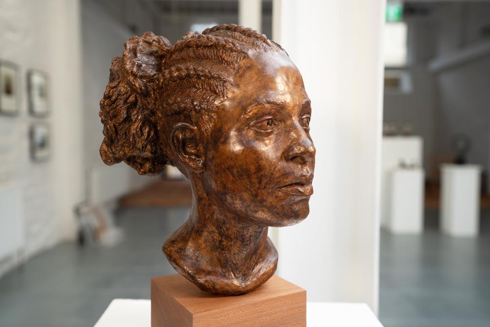 Statue head - Dublin