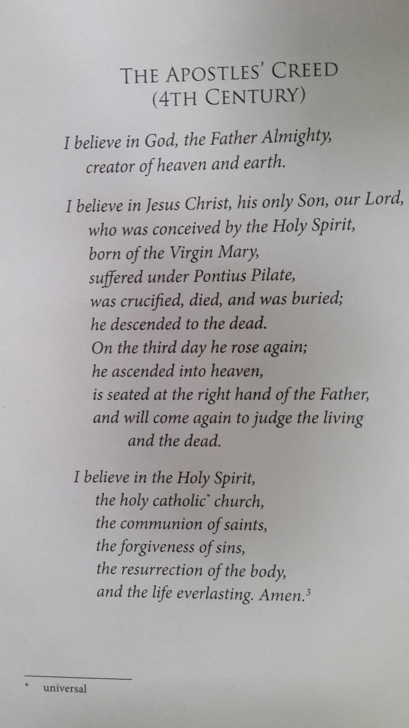 """The Apostles' Creed – Sunday May 14th Trinity Church, Newport at 9am """"#2 – Jesus Christ"""" The Reverend Alan Neale"""