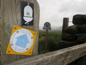 North York Moors signpost