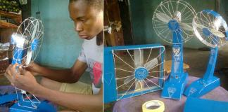 A 13-year-old Nigerian boy invents