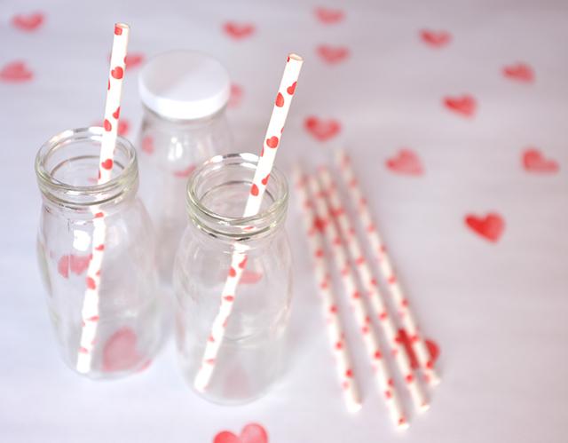 heart straws
