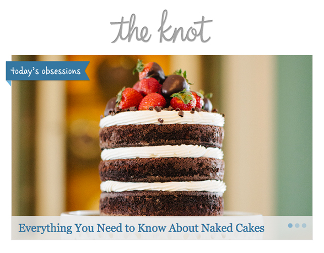 the knot_naked cakes