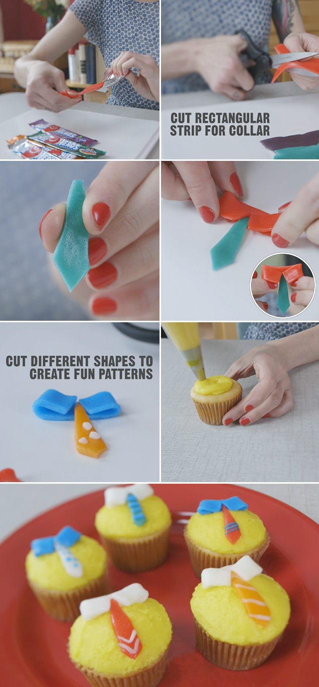 DIY Fathers Day Cupcakes