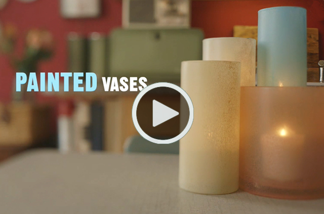 Craft On Painted Vases