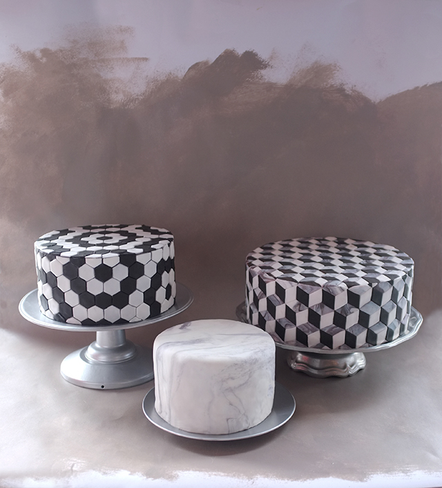 Alana Jones-Mann Tile Cake Series