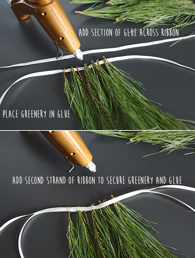 Evergreen Backdrop DIY