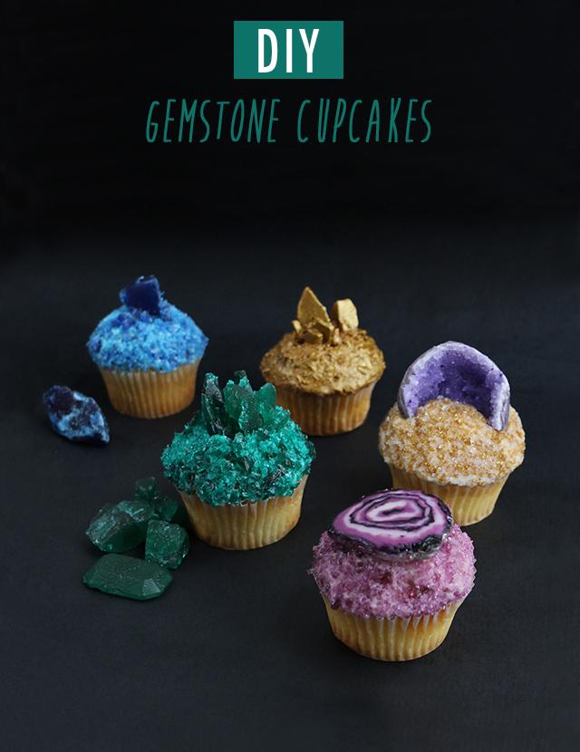 AJM DIY Gemstone Cupcakes