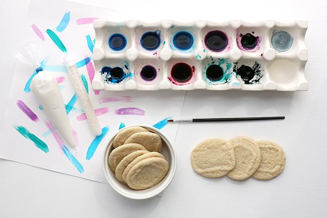 Agate Cookies Materials