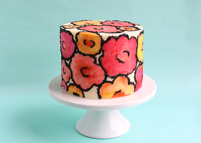 DIY: Cake Painting   Alana Jones-Mann