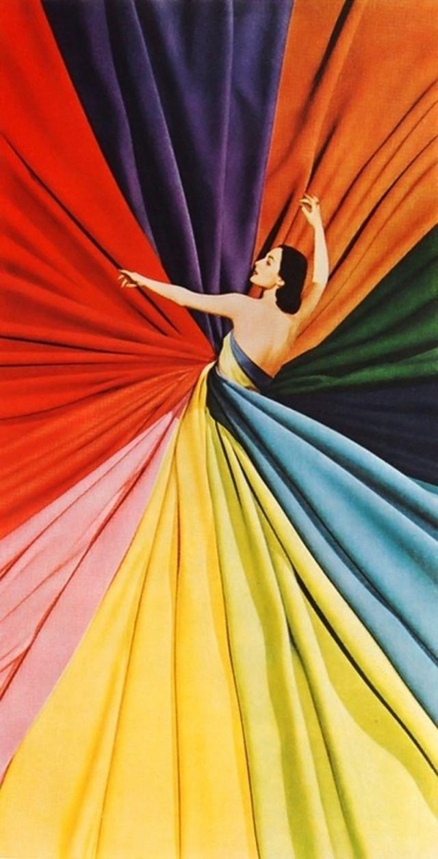 color wheel dress