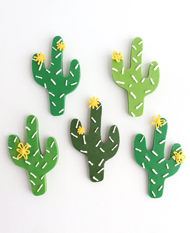 DIY Chocolate Cacti
