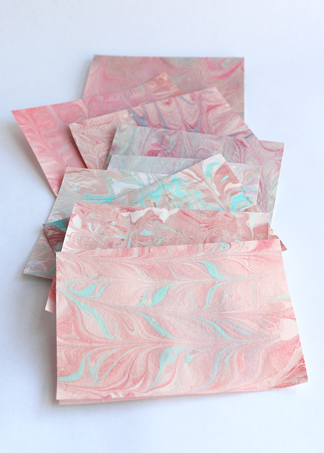 Marbled Stationery
