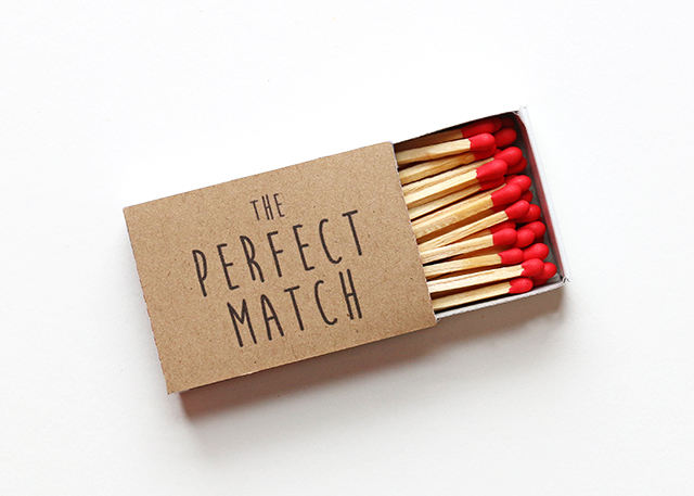 The Perfect Match DIY 3