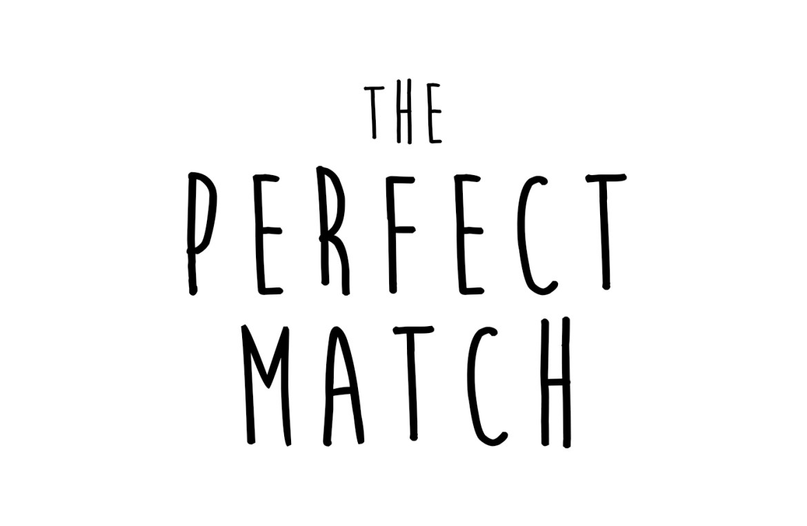 The Perfect Match Text