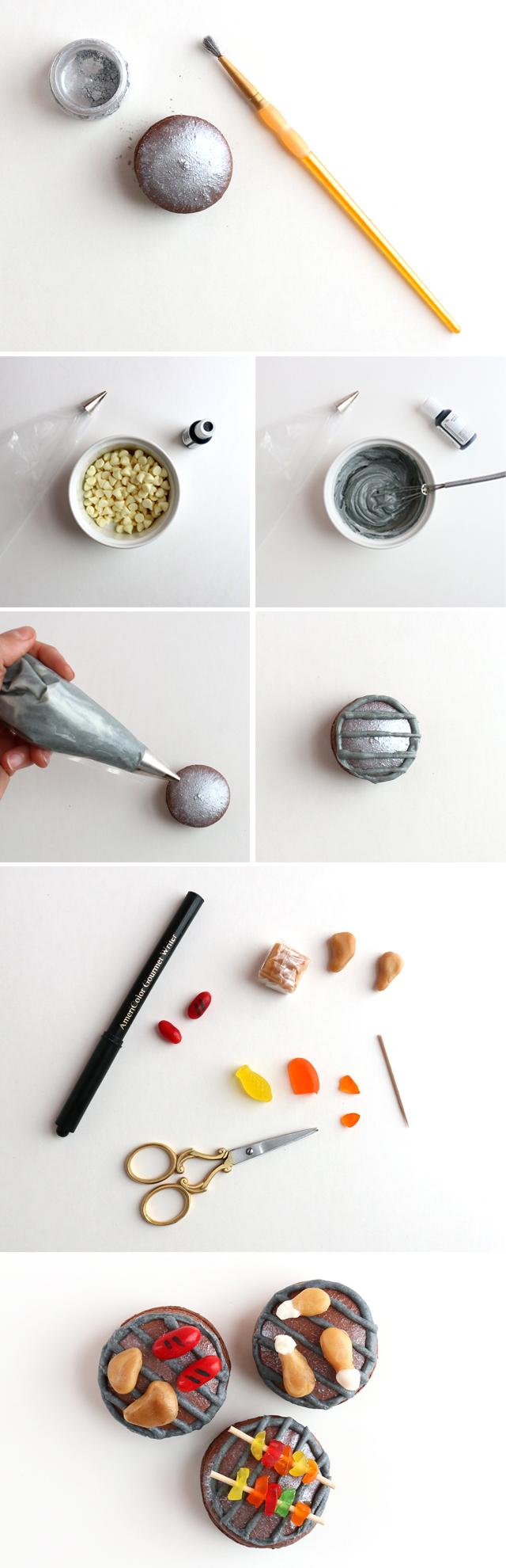 Grilled BBQ Macaron DIY