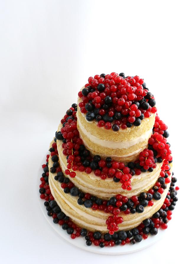 AlanaJonesMann Naked Wedding Cake