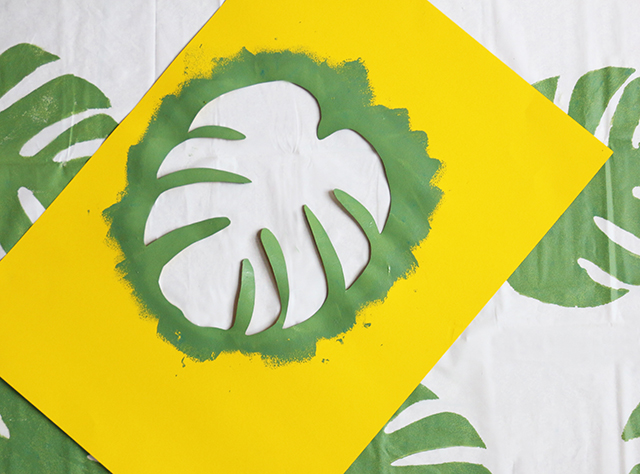 Philodendron Beach Blanket DIY