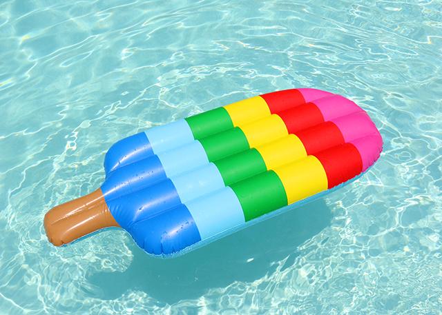 Popsicle Pool Float