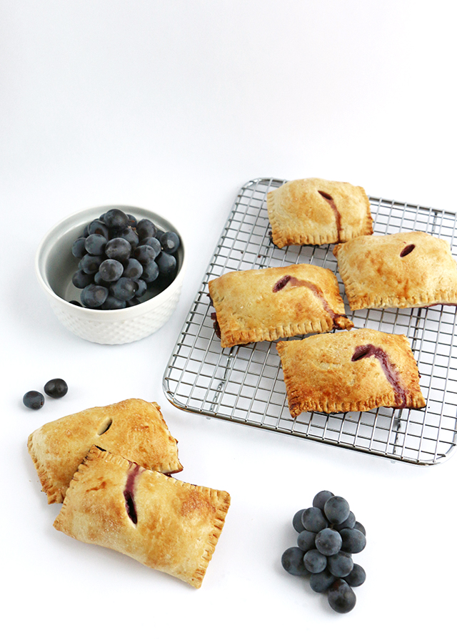 Concord Grape Hand Pies
