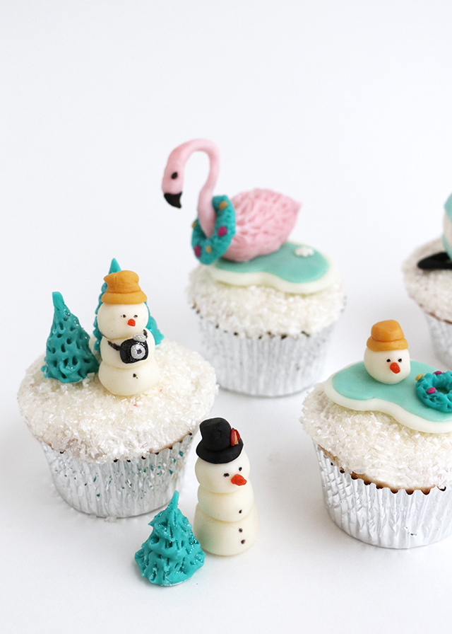 Holiday Cupcake Toppers