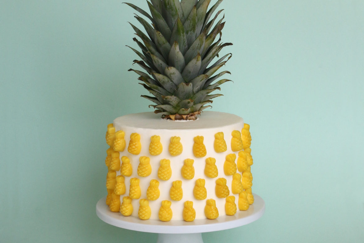 Pineapple Flavored Cake