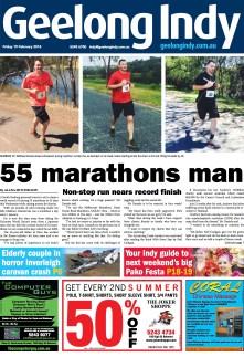 55 marathons man