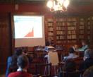 Patrick Viveret presenting at Cerisy-la-Salle, Sep 2009