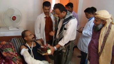 Photo of الوكيل النوبة يتفقد جرحى الحرب في مستشفيات عدن