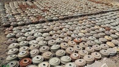 Photo of احصائية مخيفة بعدد ألغام ومقذوفات الحوثي الذي تم انتزاعها خلال الاسبوع الاول من سبتمبر الجاري