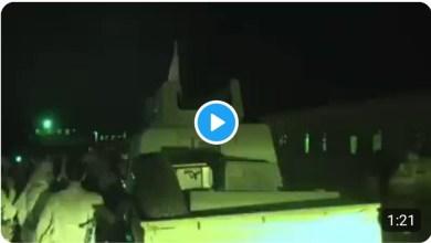 Photo of شاهد الفيديو .. اول معسكرات الحزام الامني في محافظة أبين بأيدي الشرعية