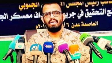 Photo of بالفيديو ..بن بريك يرفض دعوة السعودية والتحالف لانسحاب مليشياته من مواقع الشرعية في عدن