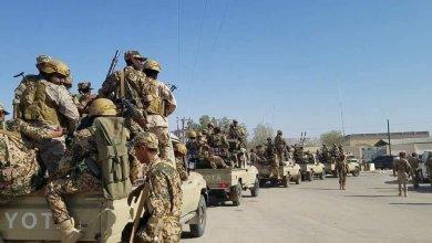 Photo of قوات عسكرية ضحمة من أبين في مهمة إسناد وتعزيز ألوية الحماية الرئاسية في عدن