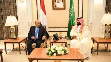 Photo of الرئيس هادي يبحث مع ولي العهد السعودي آخر تطورات عدن