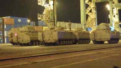 Photo of بالفيديو والصور …تعزيزات عسكرية سعودية  تصل الى عدن