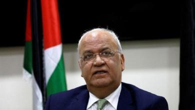 Photo of الرئيس الفلسطيني ينعي أمين سر منظمة التحرير صائب عريقات