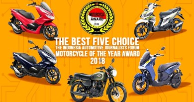 Inilah 5 Sepeda Motor Finalis FORWOT Motorcycle of the Year 2018