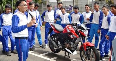 Tim SRP Wahana Sudah 'Gas' Edukasi Safety Ridng Awali Tahun 2019