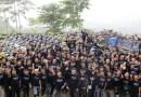 Eratkan Kebersamaan, Peserta Tourjib 4 ARCI Jakarta Pecahkan Rekor Dengan 103 Motor