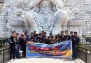 Touring Wisata GCN Kepri Eksplor Pantai Trikora dan Vihara Patung Seribu Wajah