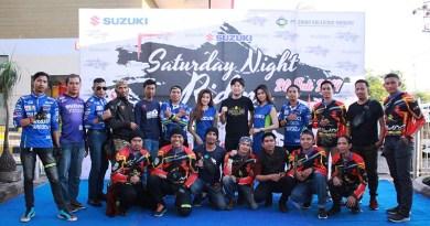 Ratusan Bikers Suzuki Nikmati Riding Bersama Menyusuri Kota Makassar