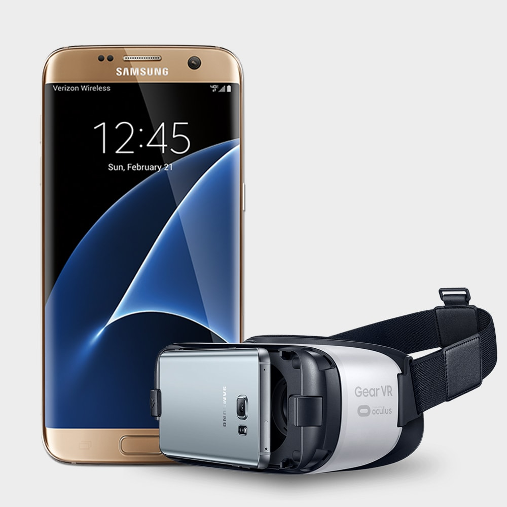 Samsung S7 with gear