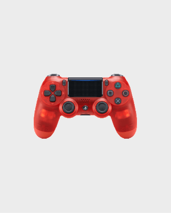 Sony PlayStation DualShock 4 PS4 Wireless Controller (2nd Generation) - Red Crystal Edition