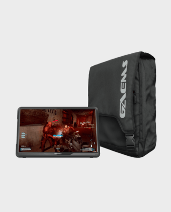 "GAEMS M155 15.5"" HD LED Performance Gaming Monitor with Backpack for PS4, Xbox one"