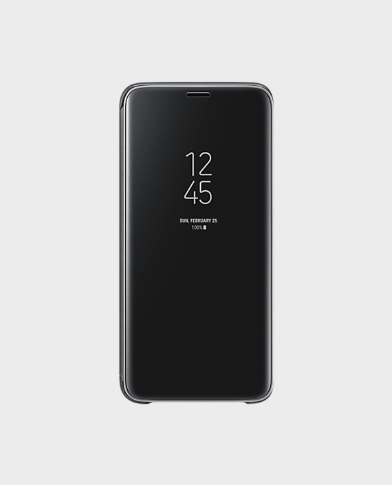 S9+ Clear View Standing Cover in Qatar