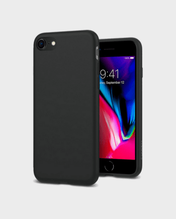 Spigen iPhone 8 Case Liquid Crystal Matte Black in Qatar and Doha