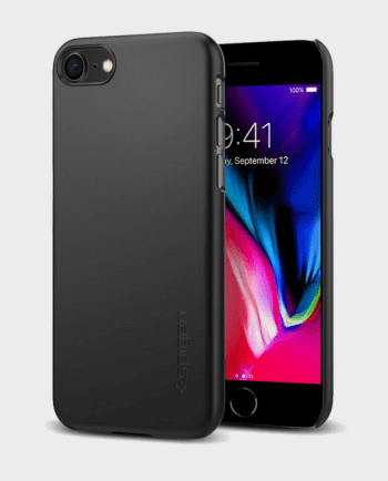 Spigen iPhone 8 Case Thin Fit Black in Qatar