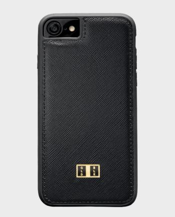 Gold Black iPhone 7 Case Saffiano Black in Qatar
