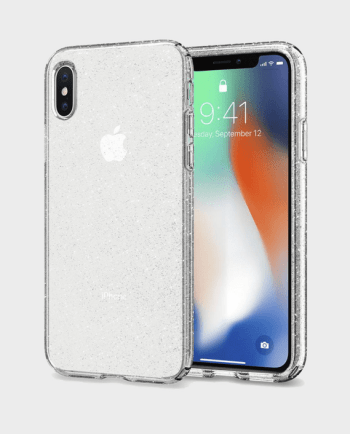 Spigen iPhone X Case Liquid Crystal Glitter in Qatar