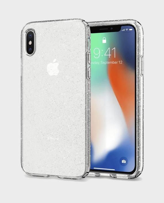 Spigen iPhone X Case Liquid Crystal Glitter in Qatar