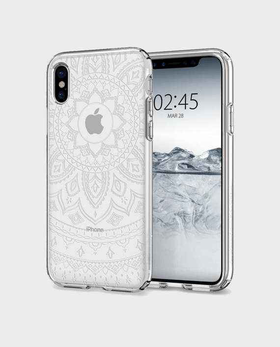 Spigen iPhone X Case Liquid Crystal Shine in Qatar